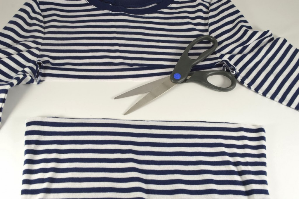 Diy Off The Shoulder Top From A Long Sleeve Shirt Wild Amor