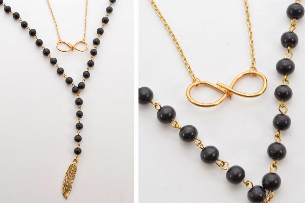 diy: Infinity Wire Necklace - Wild Amor