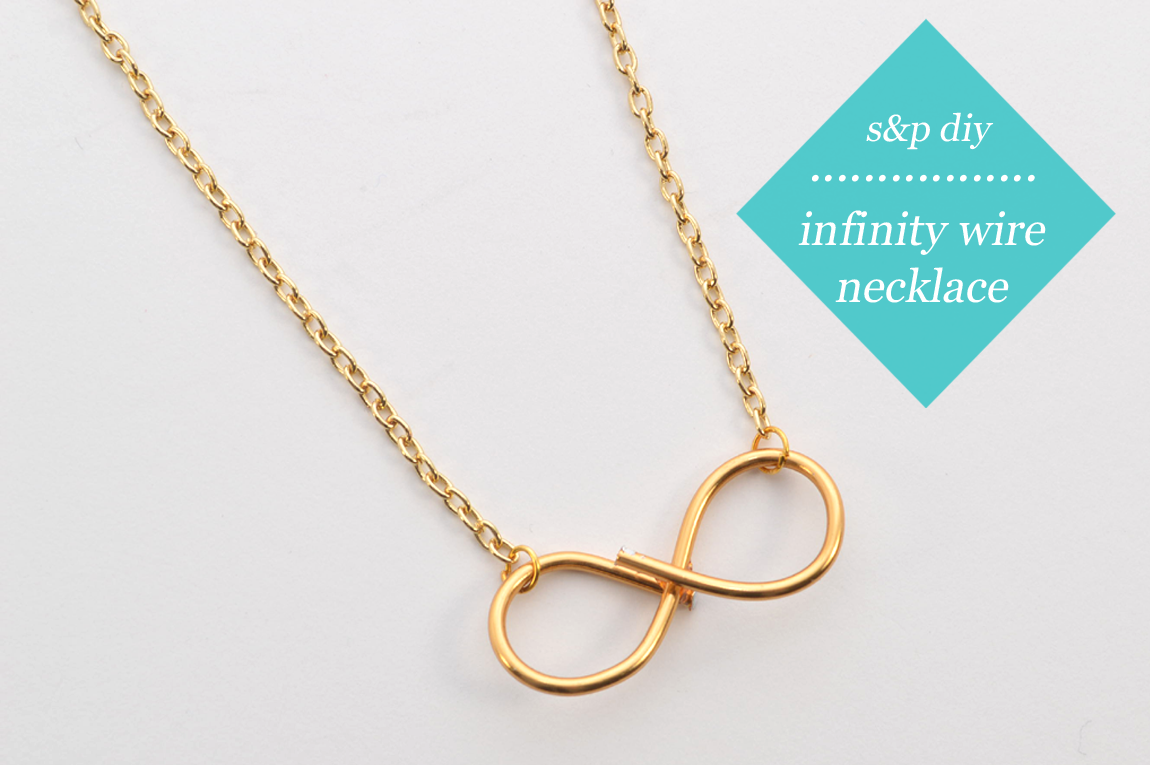 diy: Infinity Wire Necklace - Wild Amor