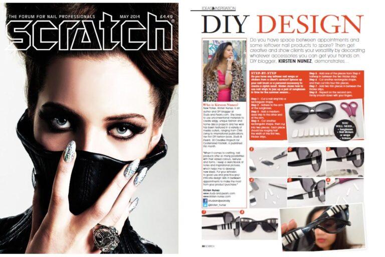 Feature: Scratch Magazine, UK (June 2014)