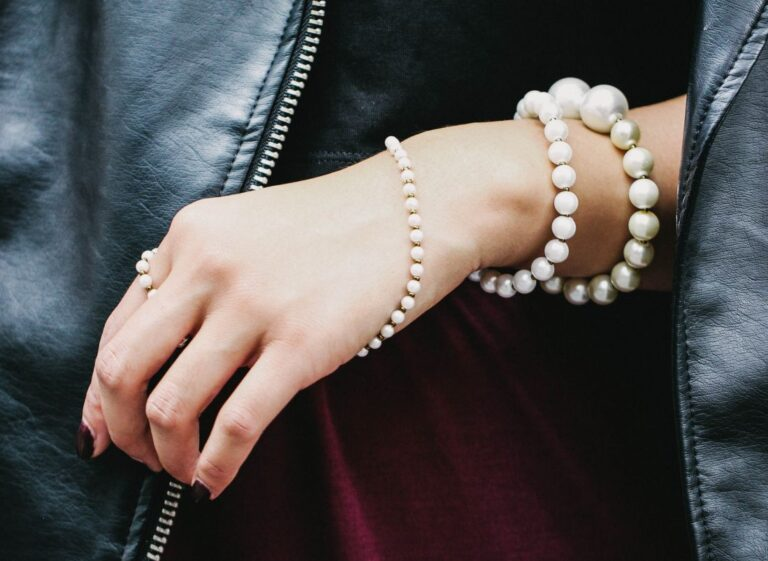 DIY: Pearl Wraparound Bracelet