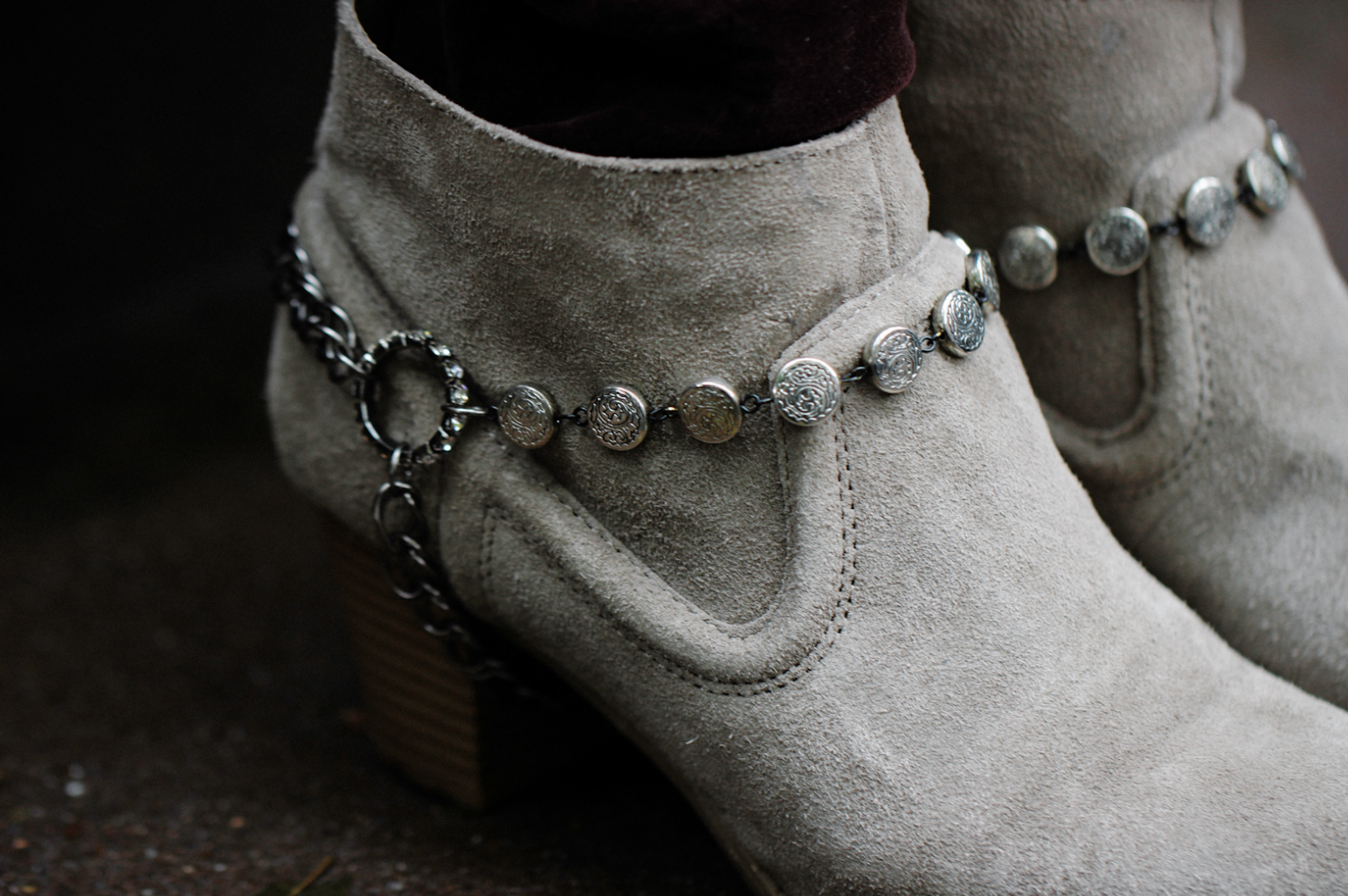 Wild Amor DIY: Chain Boot Harnesses
