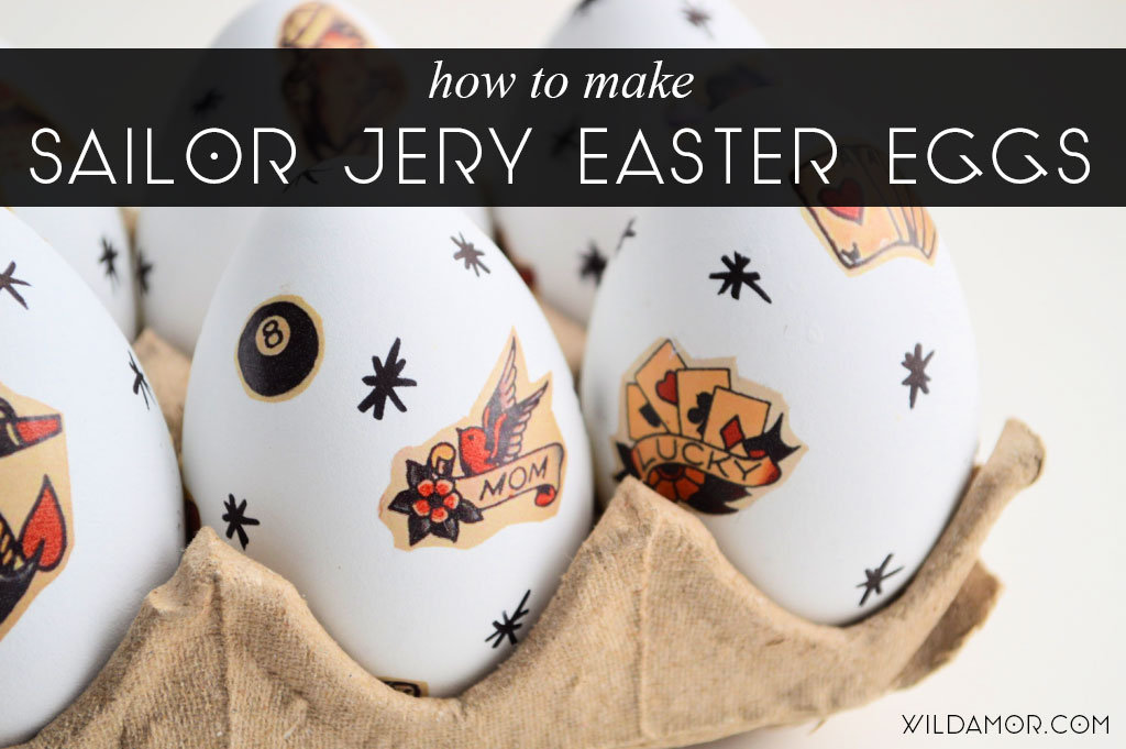 Sailor Jerry Easter Eggs DIY