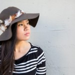 eHow DIY: Feather Trimmed Floppy Hat