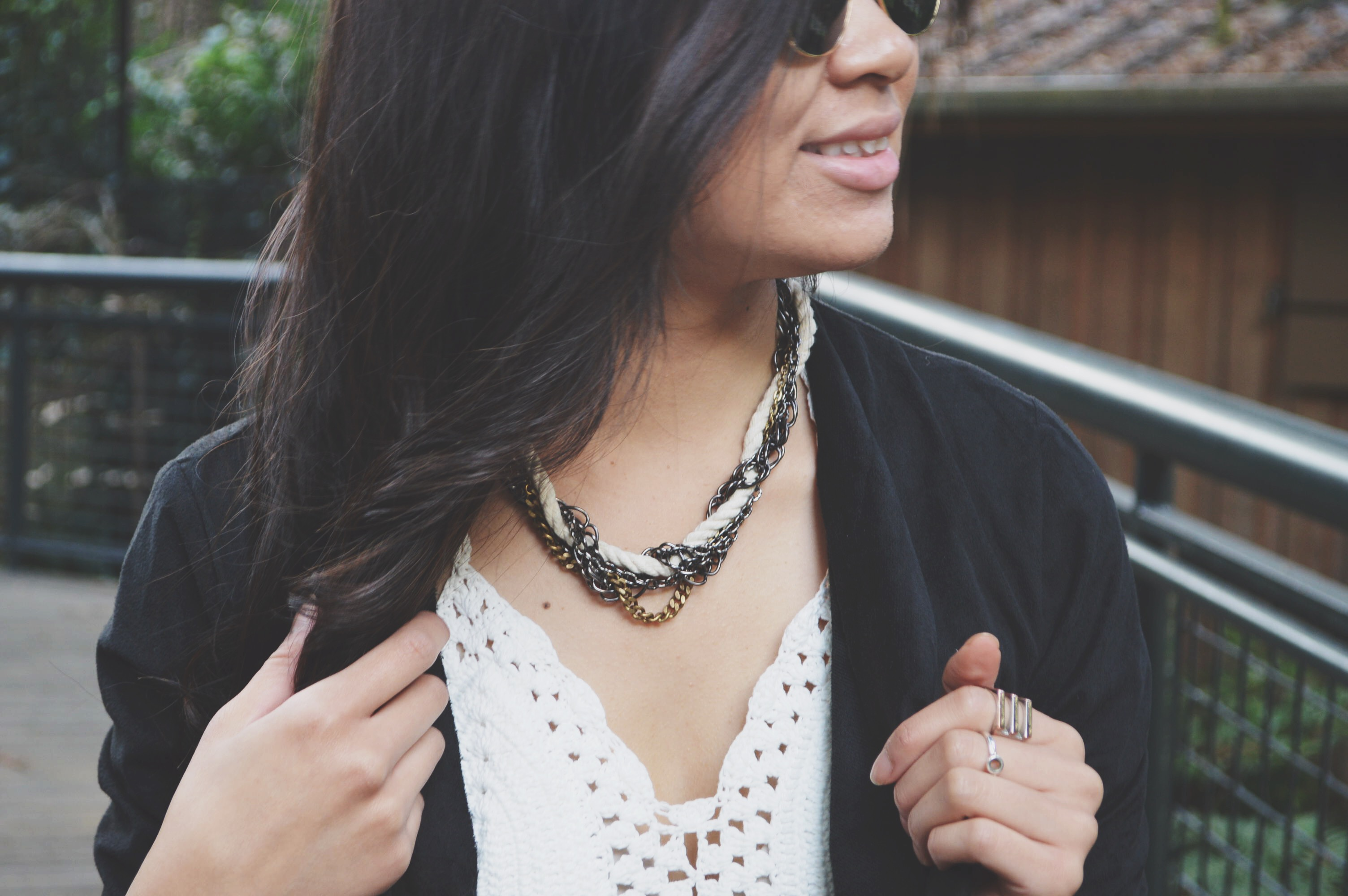 DIY: Braided Chain and Rope Necklace