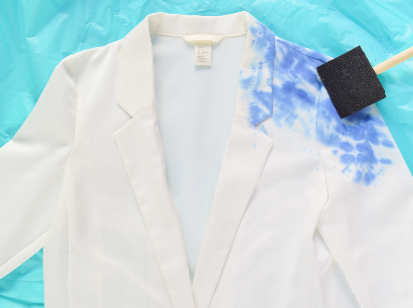 How to Make a Watercolor Blazer