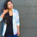 DIY: Watercolor Blazer