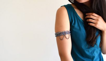 Darice DIY: Draped Chain Beaded Armlet