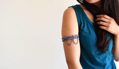 Darice DIY: Draped Chain Beaded Armlet
