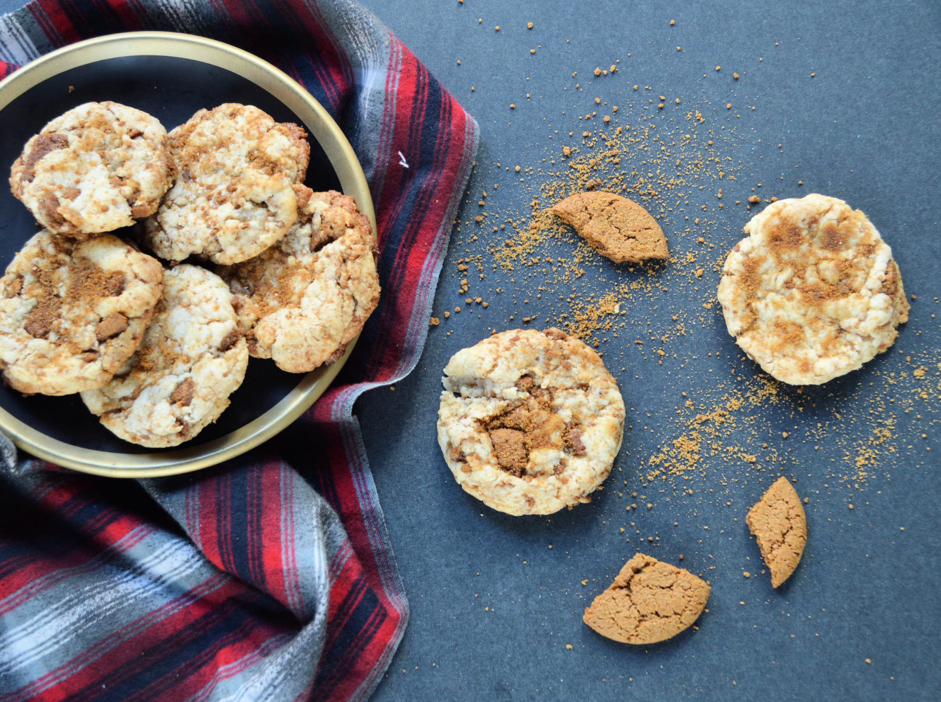 Recipe: Gingersnap Cheesecake Cookies