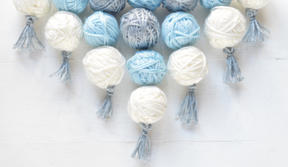 Darice Crafts: How to Make a 3-D Yarn Wall Hanging