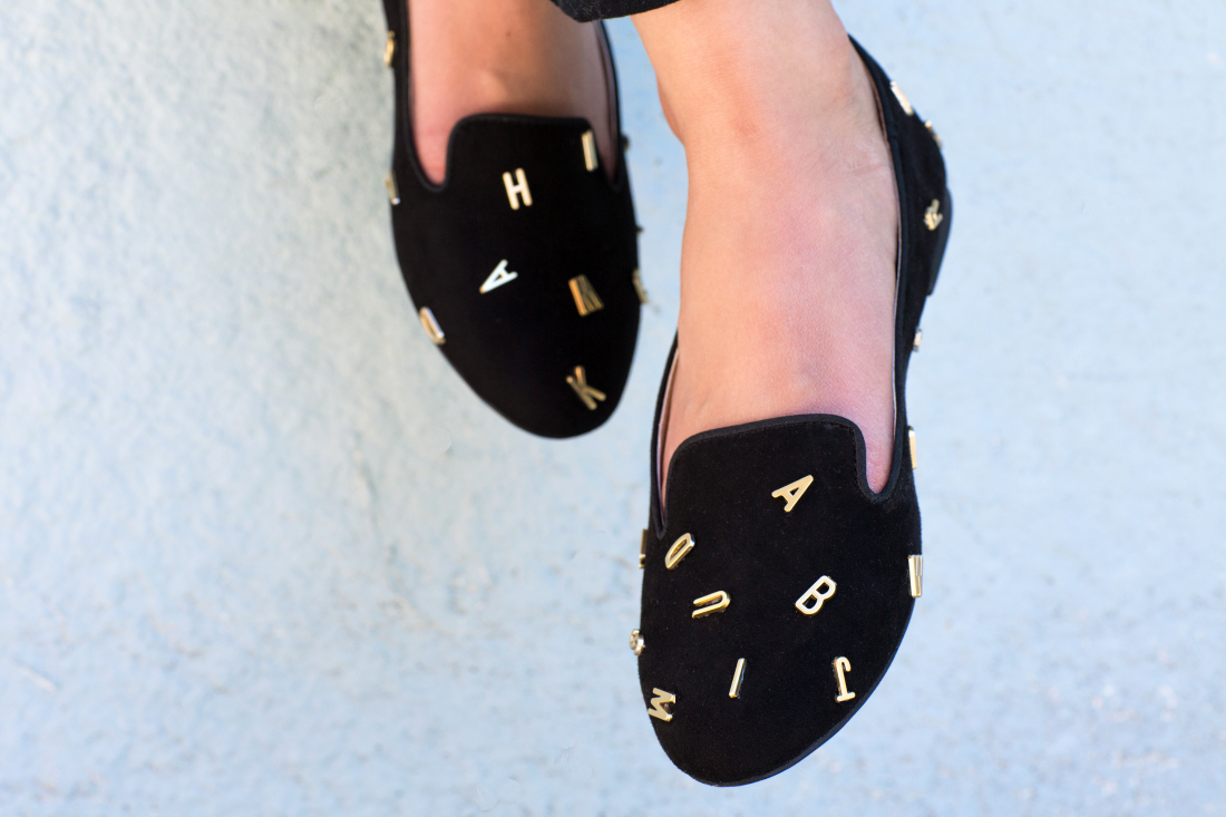 DIY: Alphabet Shoes (Inspired by Jeffrey Campbell)