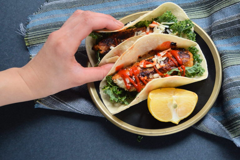 Recipe: Honey Sriracha Tacos