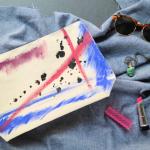 eHow DIY: Artsy Canvas Pouch