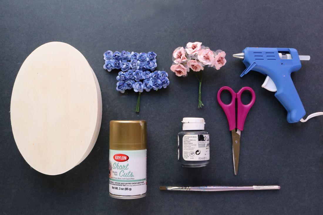 DIY: Floral Eye Trinket Box