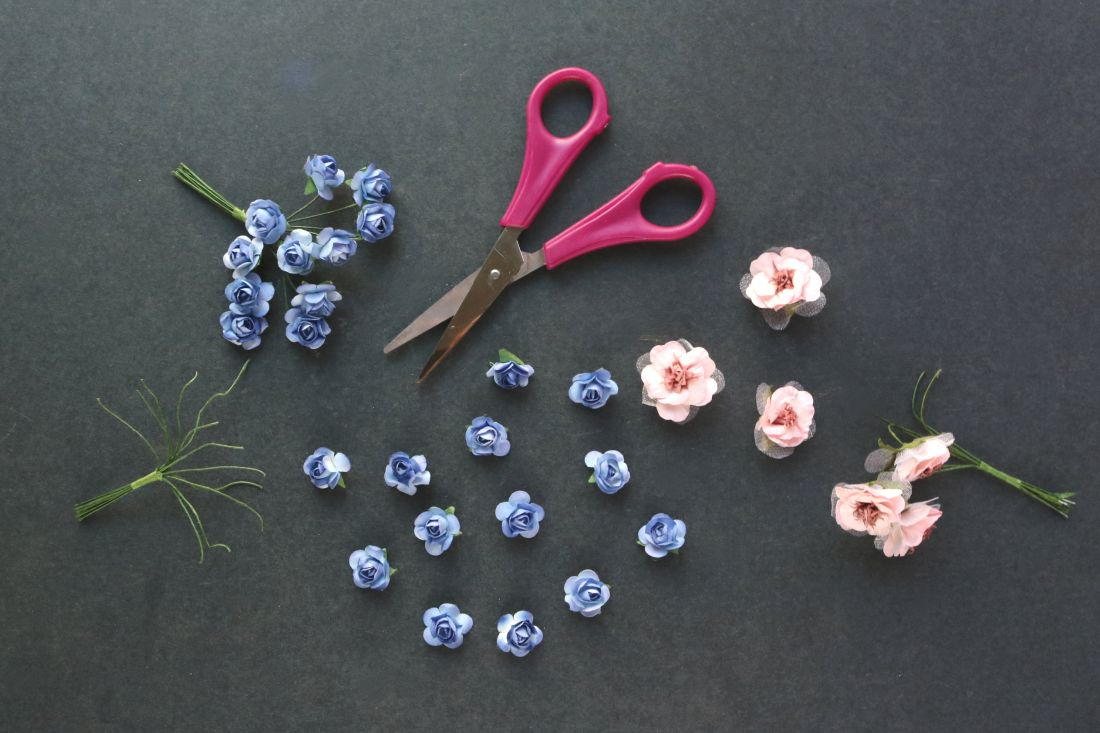DIY: Floral Eye Trinket Box