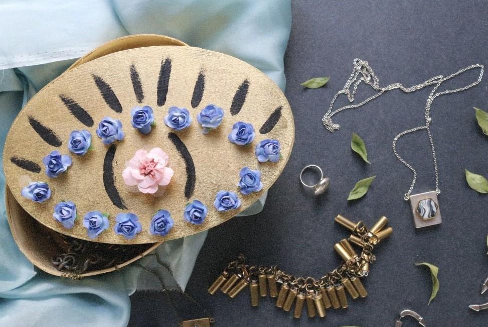 Diy Floral Eye Trinket Box Wild Amor