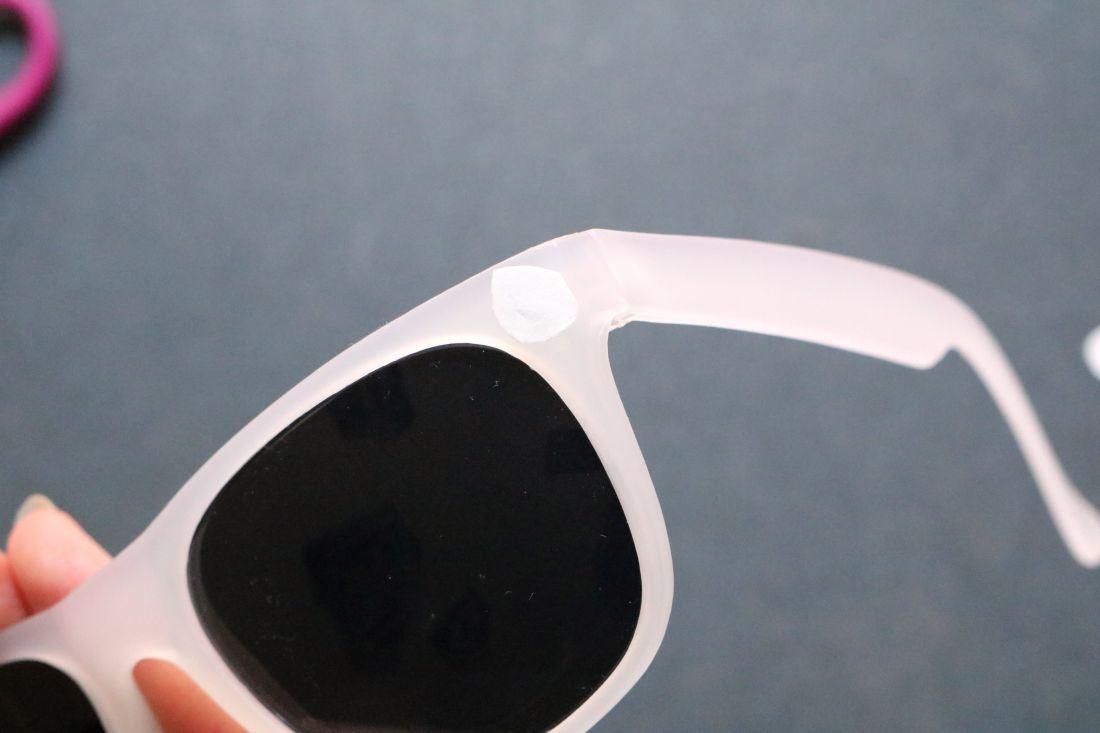 DIY: Jungle Print Sunglasses