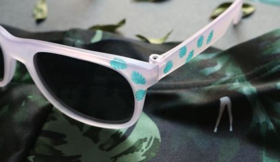 DIY: Jungle Print Sunglasses