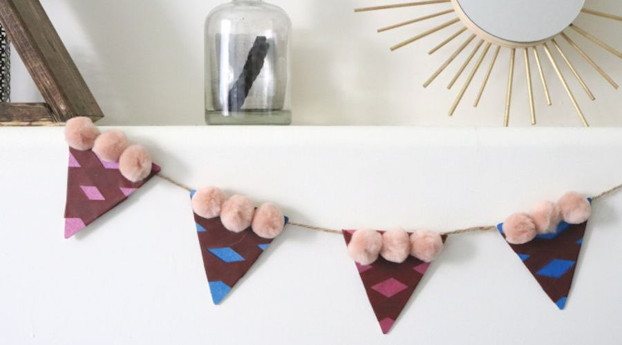 Darice DIY: Pi Day Pie Slice Garland