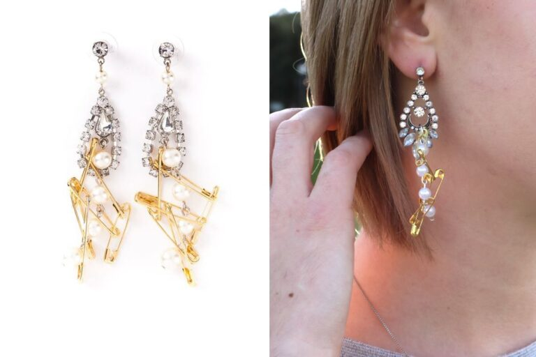 eHow DIY: Punk Chic Rhinestone Earrings