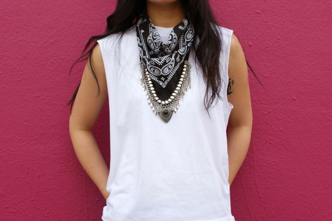DIY: Bandanna Necklace