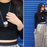 DIY: Stone Fringe Necklace