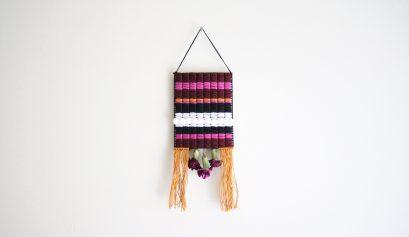 Darice DIY: No-Weave Floral Tapestry