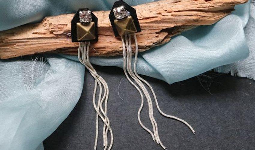 We Heart This: Embellished Shoulder Duster Earrings