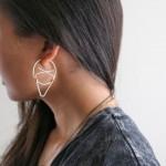 Darice DIY: Geometric Hoop Earrings