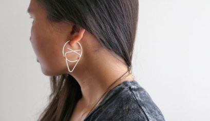 Darice DIY: Geometric Hoop Earrings