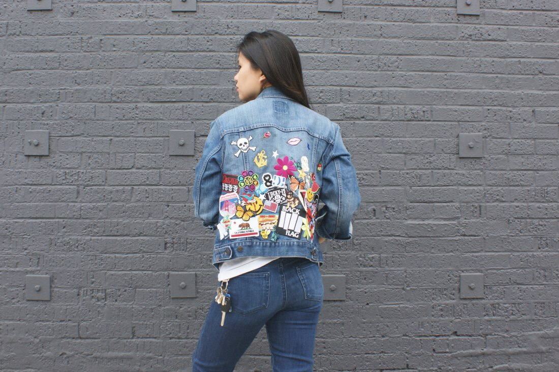Diy Patch Party Denim Jacket Wild Amor