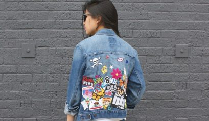 DIY: Patchwork Party Denim Vest