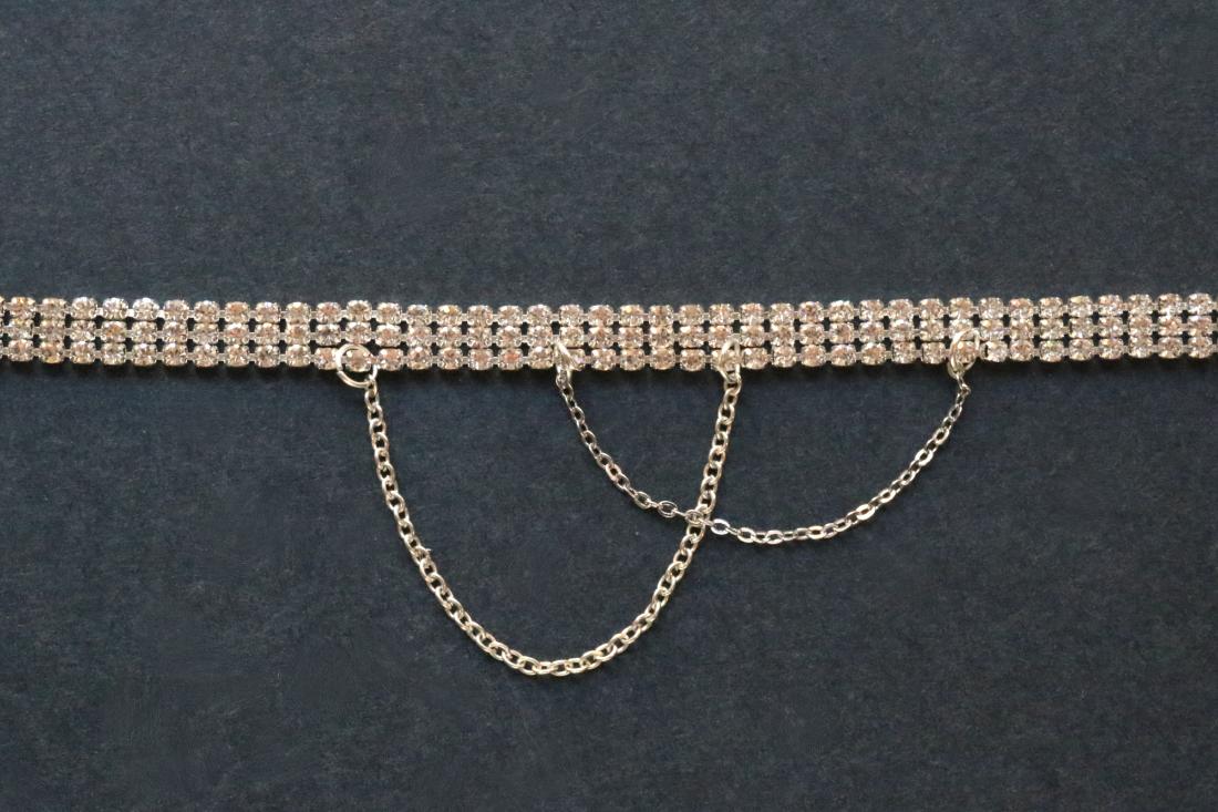 DIY: Draped Rhinestone Choker