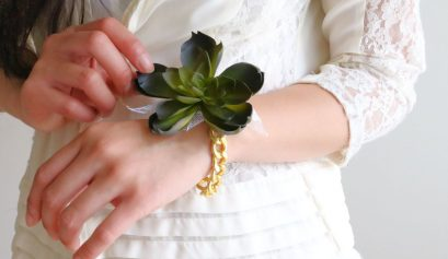 Darice DIY: Succulent Wedding Corsage