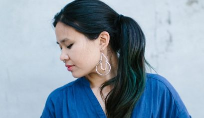 Darice: Beaded Hoop Earrings