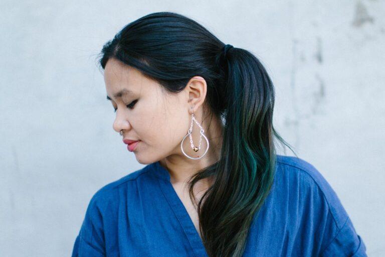 Darice: Beaded Hoop Earrings