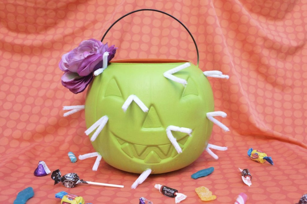 DIY: Cactus Candy Bucket
