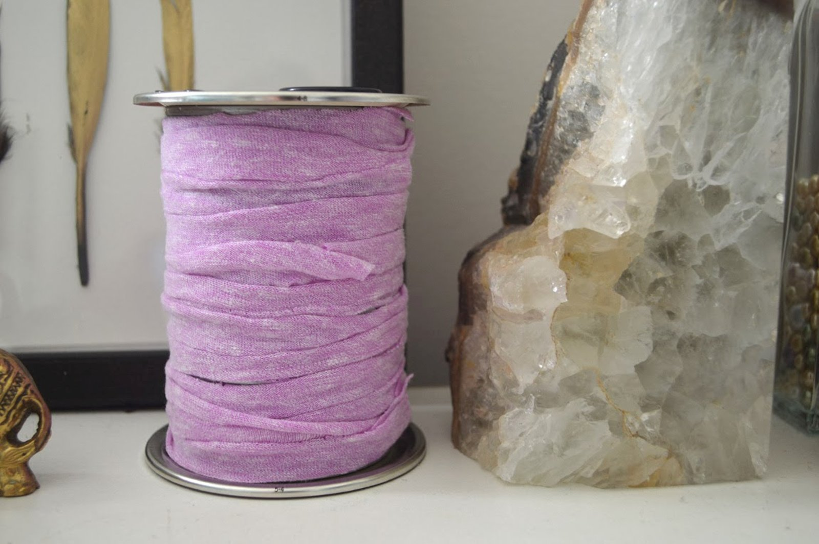 DIY: Faux Spool Candle