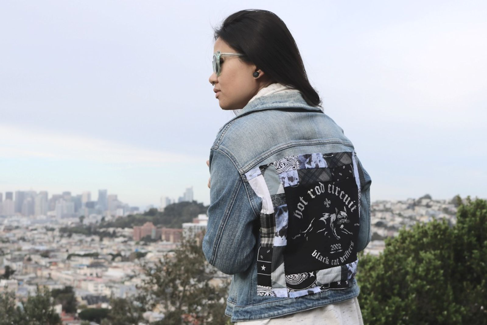 DIY: Patchwork Denim jacket