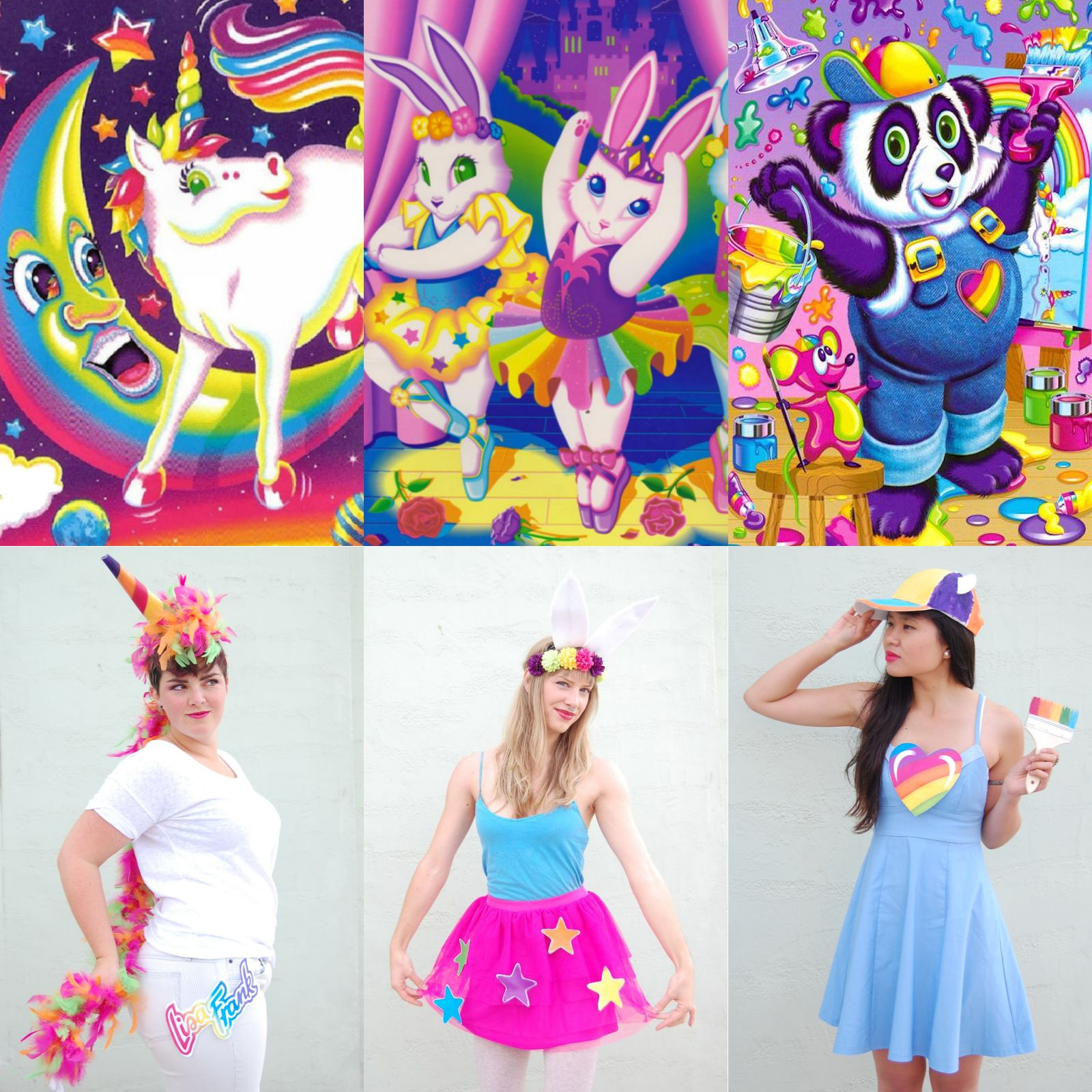 DIY Lisa Frank Halloween Costumes
