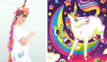 DIY Lisa Frank Costumes: Rainbow Unicorn