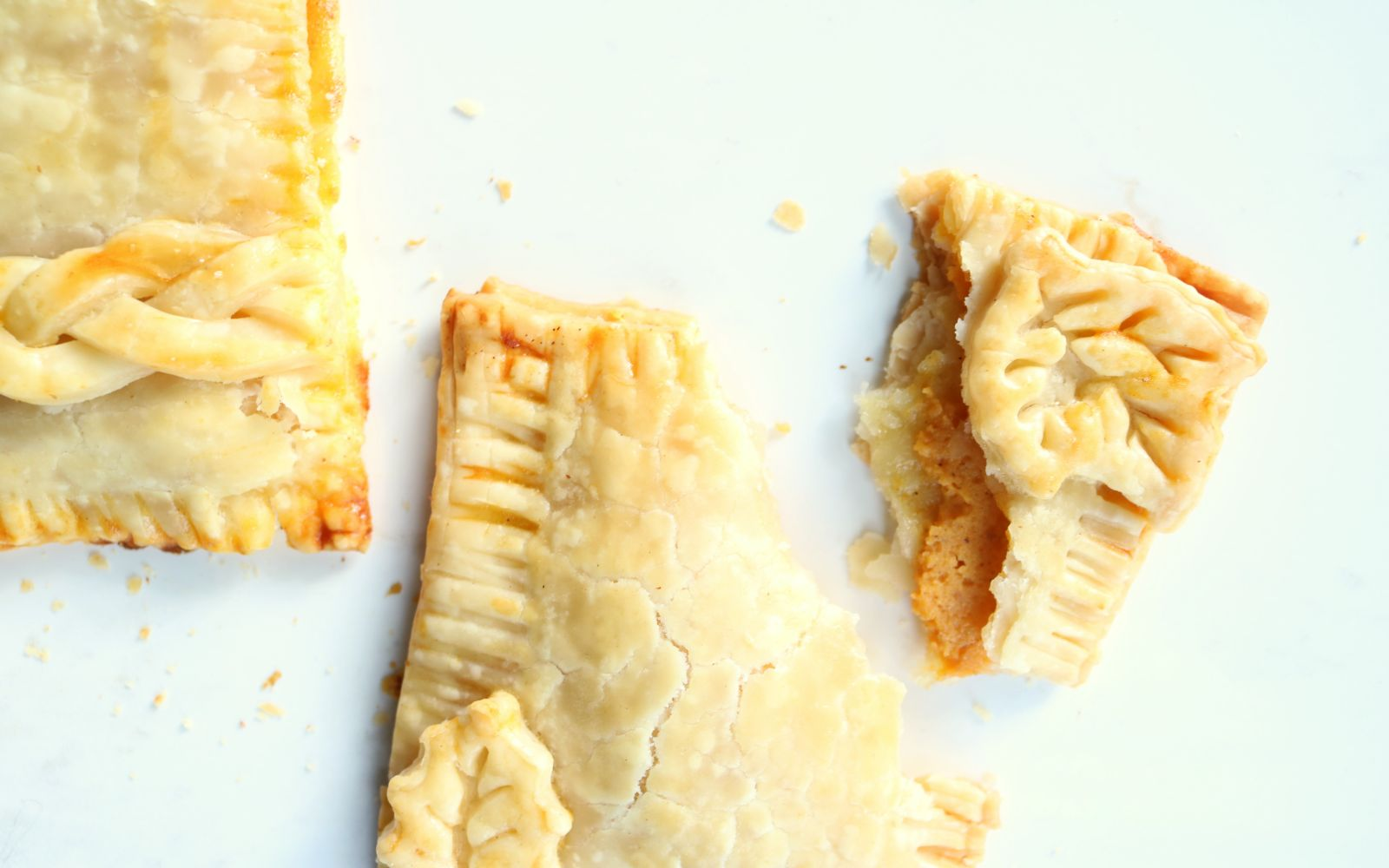 Decorative Pumpkin Pie Pop Tart