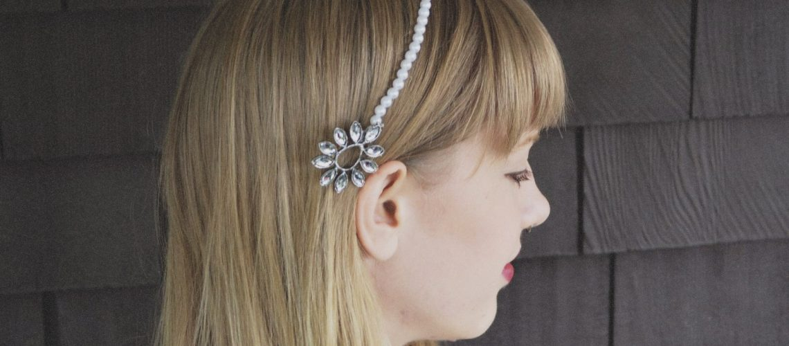 DIY: Pearl and Gem Headband