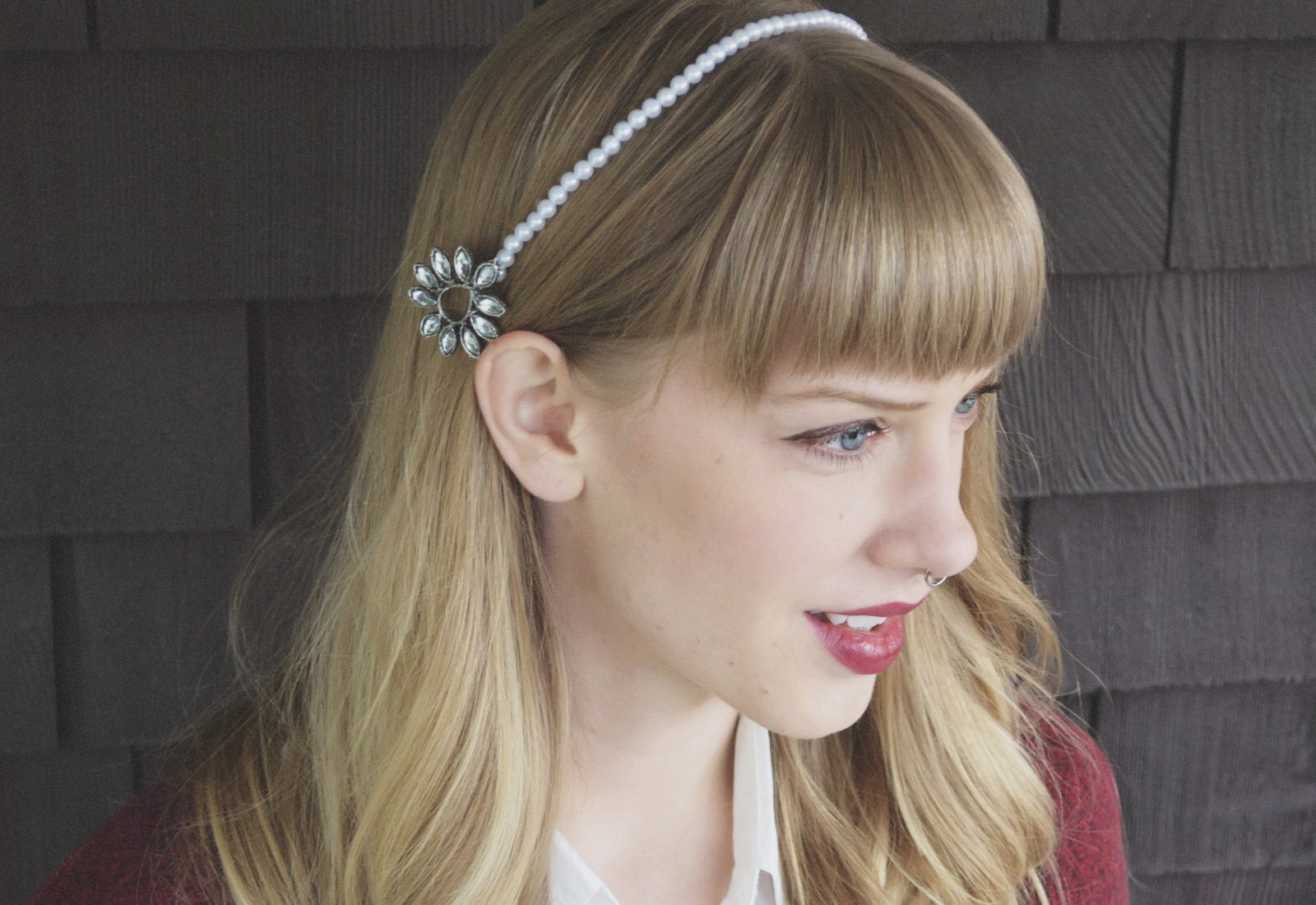 DIY: Beaded Gem Headband