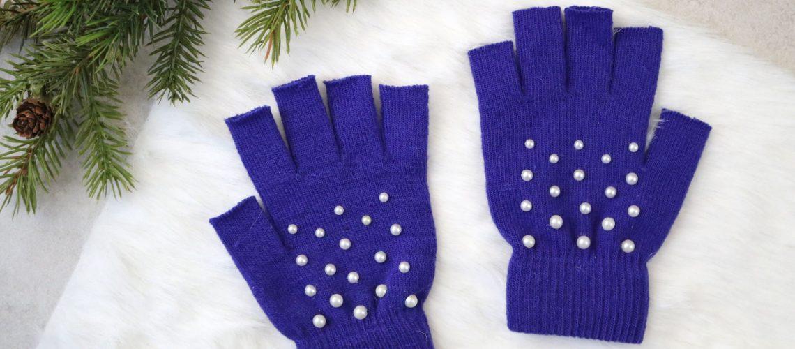 MORE: DIY Pearl-Studded Fingerless Gloves