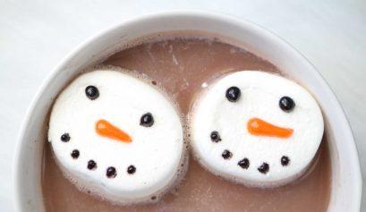 Extra Crispy: Snowman Marshmallow DIY