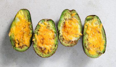 Extra Crispy: Baked Avocado Eggs
