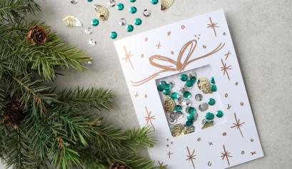 Darice: Confetti Christmas Card