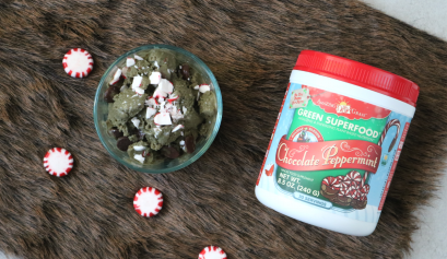 Amazing Grass Recipe: Chocolate Peppermint Green Ice Cream